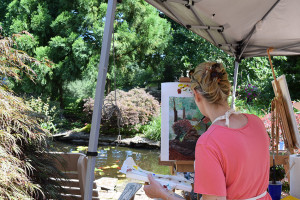 Painting by the Pond Workshop with Nanci Hersh