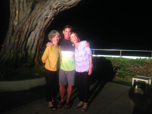 Photo of Pegge Hopper, Scott and Nanci