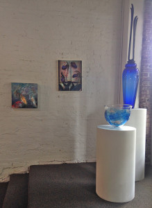Installation photo of the Art of Peace.