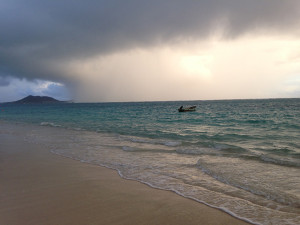 Photo of Kailua Beach at sunrise