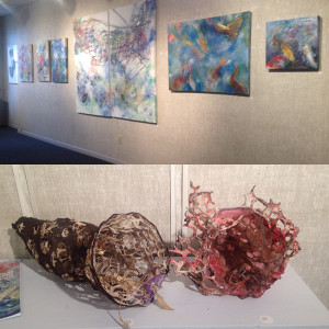 Nanci Hersh Art at Blue Streak Gallery, Wilmington, DE
