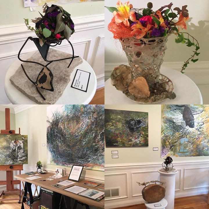 Good Morning! Chester County Studio Tour is today 11-5. We are #studio54 #artsquad #painting and more                Free & open to the public. Visit all 7 #magnificent7 studios and you are entered to win a work of art by one of our artists. Met wonderful people yesterday- looking forward to seeing You today!             *.                                          *.                                          *.                                           #nancihersh #nancihershart #contemporaryart #gallery #openstudio #koi #blacklab #heartening #inviting #embracing #beauty #vibrant #kennettsquare #chestercounty #ccst #ccst18
